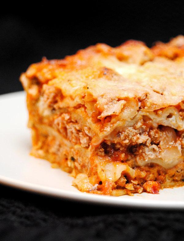 cuisson lasagnes à la bolognaise