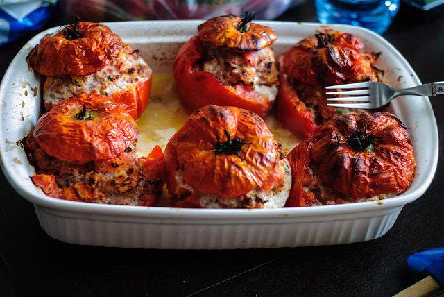 cuisson tomates farcies